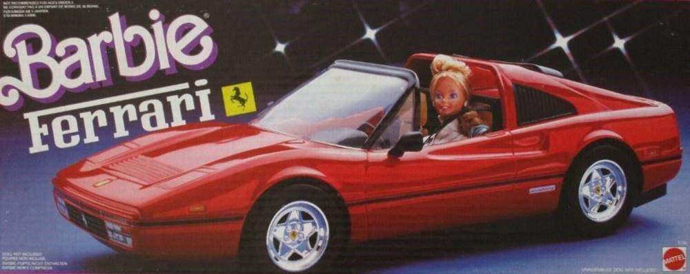 Barbie 1987 Ferrari 328 GTS