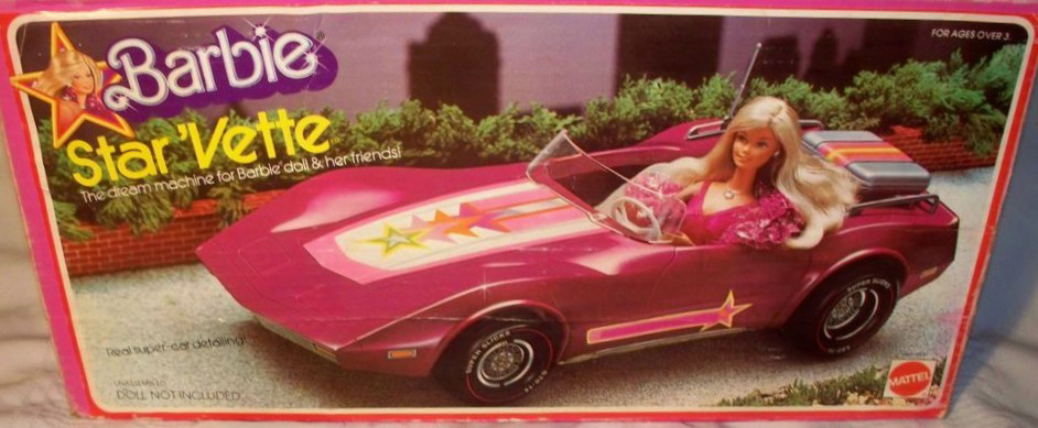 Barbie 1976 Star Vette